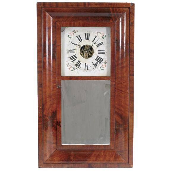 Elisha Manross 8 Day Og Antique American Clocks