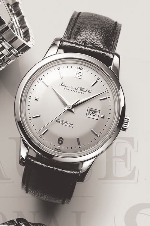 The Real Source Of Inspiration For The Vintage IWC Ingenieur