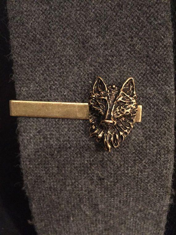 Dire Wolf Mens Accessories Tie Clip By Arcanumbyaerrowae