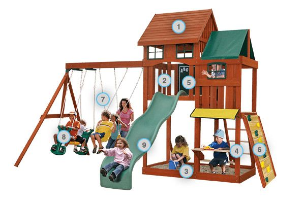 Kingswood - Products | Big Backyard Play Set