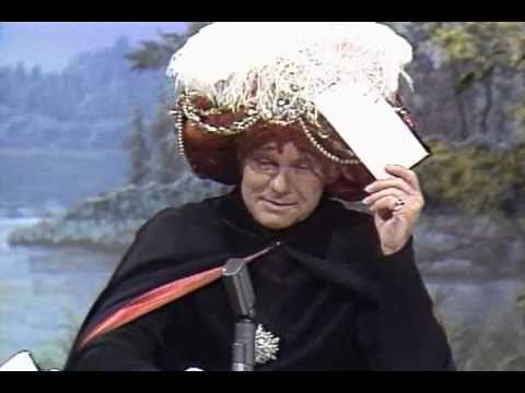 "Johnny Carson's Carnac predicts ""Hickory Dickory Dock"" on Tonight Show Starring Johnny Carson"