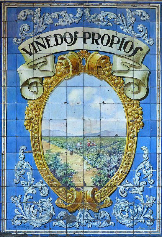 Azulejos. Bodega de la Ardosa (Madrid)