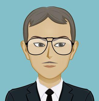 Este Japonés, Mr Takahashi, va a conseguir que Sara, la prota de Cupcakes en Manhattan, tenga muchos problemas. Para saber más sobre el personaje http://www.olgadellera.com/personajes-cupcakes-en-manhattan/