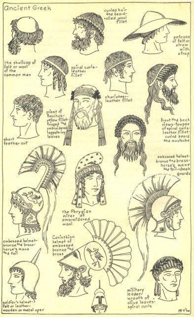 ancient greek hair - Google Search