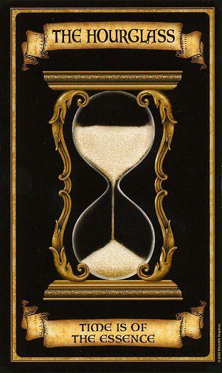 Oraculo Madame Endora: Reloj de Arena - La magia del Tarot