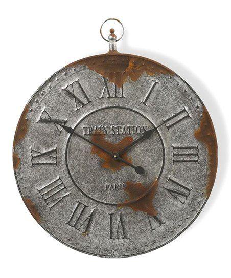 Rustic Wall Clock | zulily