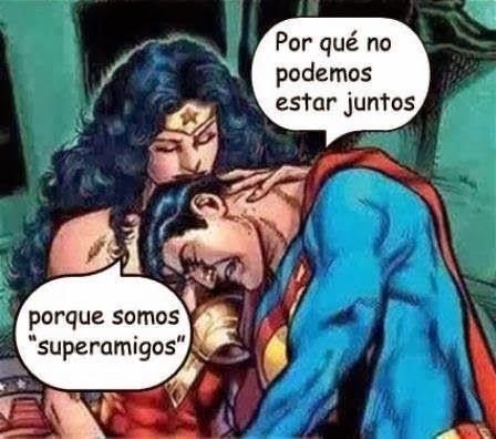 Superamigos...  #amistad #humor #mood #superheroe #conversacion