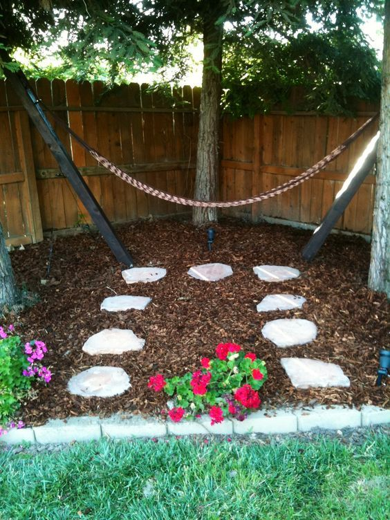 17 Best ideas about Wooden Hammock Stand on Pinterest   Wooden hammock ...