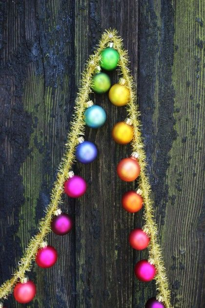 Ideas about tinsel garland on pinterest vintage