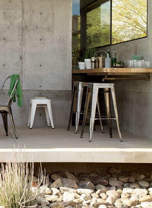Tolix stools outdoors:garden - Cult Furniture