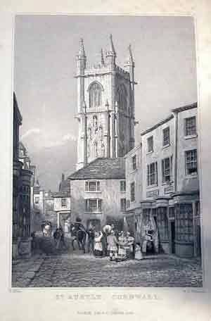 ST AUSTELL | Cornwall: Vintage image ✫ღ⊰n