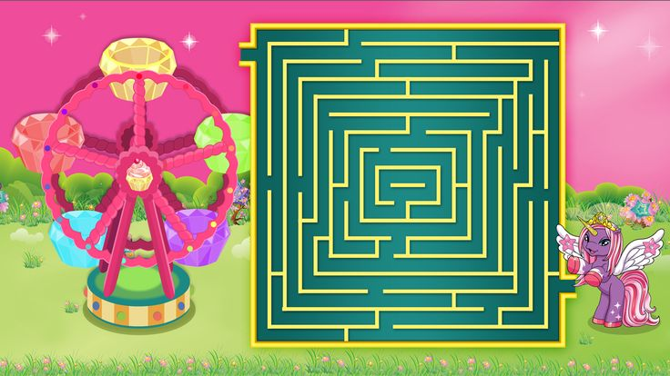 Maze Game: Zodia finds her way to Star Wheel. Download the maze game sheet to help Zodia.