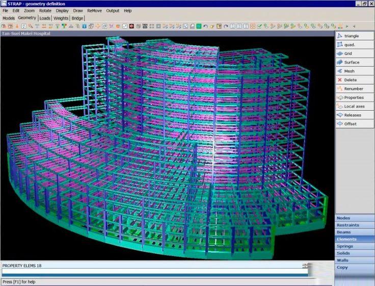 STRAP by ATIR Engineering Software STRAP ia a Windows
