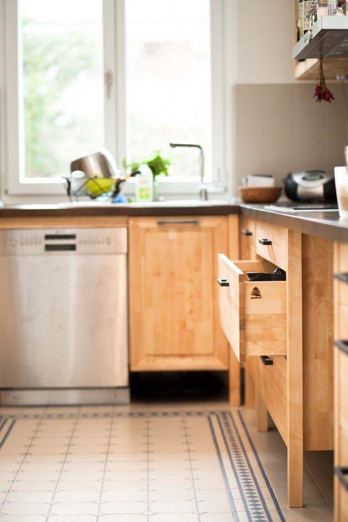 Diese Küche Haben Sich Die Kunden Aus Den Standardmodulen Selbst  Zusammengestellt. Bei Der Detailplanung Sind