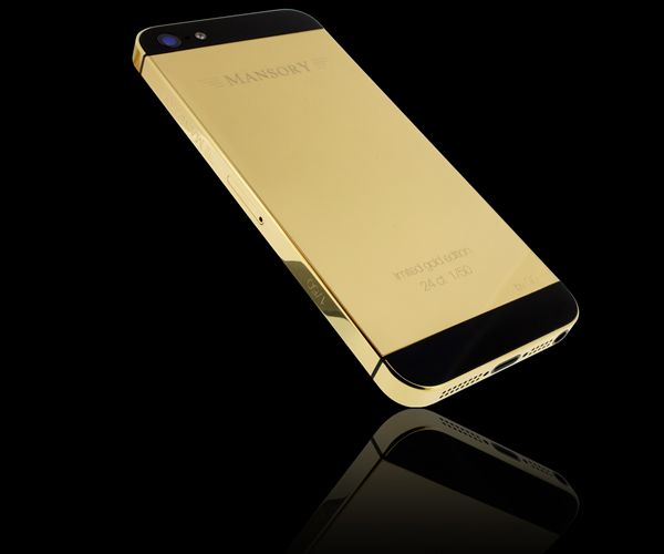 Golden Color iPhone 5 Cases