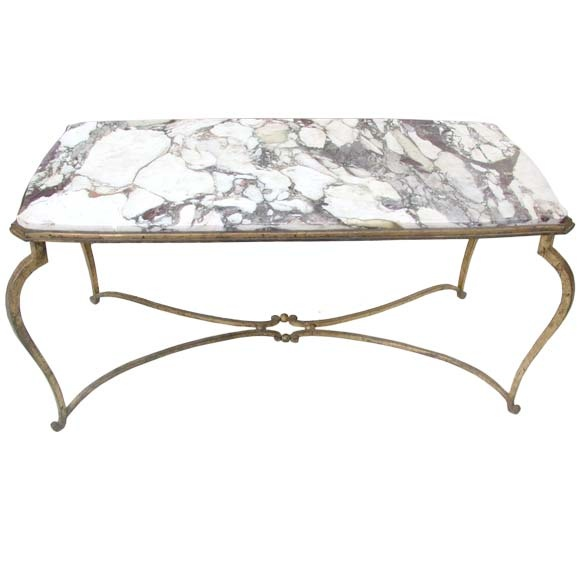 delicate marble table