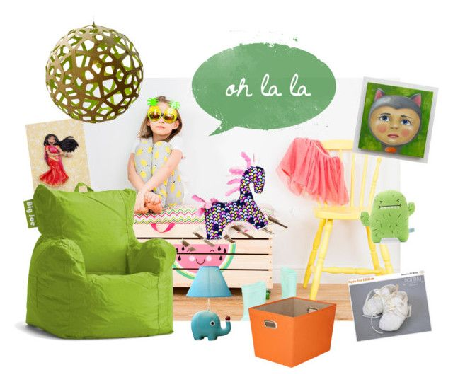 """Kids Room"" by agnkam ❤ liked on Polyvore featuring interior, interiors, interior design, home, home decor, interior decorating, Honey-Can-Do and David Trubridge"