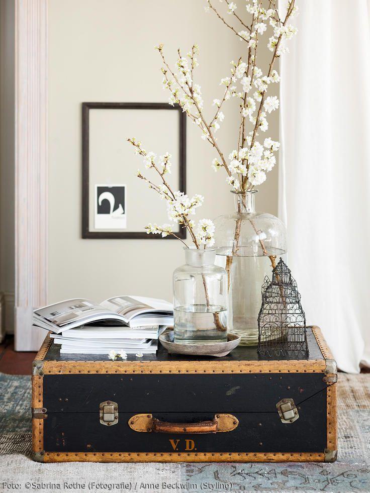 die besten 17 ideen zu deko koffer auf pinterest koffer