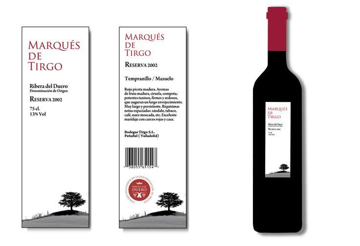 Etiqueta de vino 3