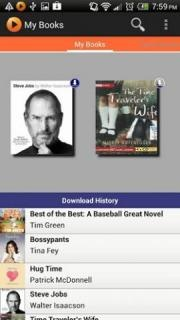 Listen to audiobooks on your Android phone or tablet with our free app! Download up to 2 audiobooks at a time over wi-fi for offline listening or stream audiobooks instantly from our library of more than 15,000 bestsellers and new releases.