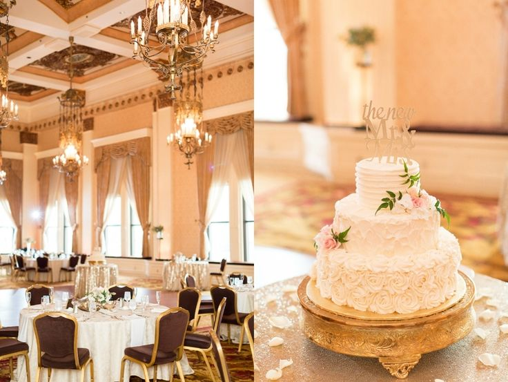 Terell + Malinda | Married | A Classy Gold + Blush City Wedding at The Pfister Hotel in Milwaukee, WI. — maisonmeredith photography