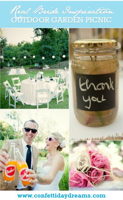 Outdoor Picnic Garden Wedding Franschhoek {Real Bride} | Confetti Daydreams ♥ #Outdoor #Garden #Wedding #Picnic #RealBride
