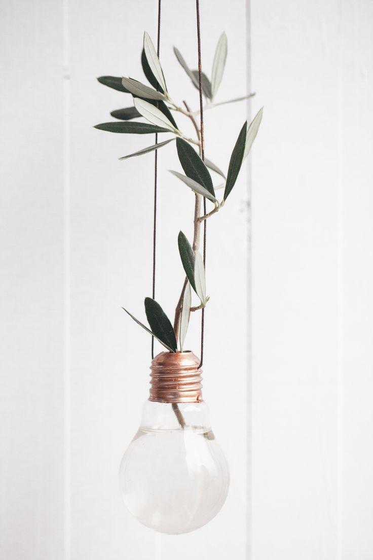 Gjør det selv – Lyspærevase | Nordiske Bryllup