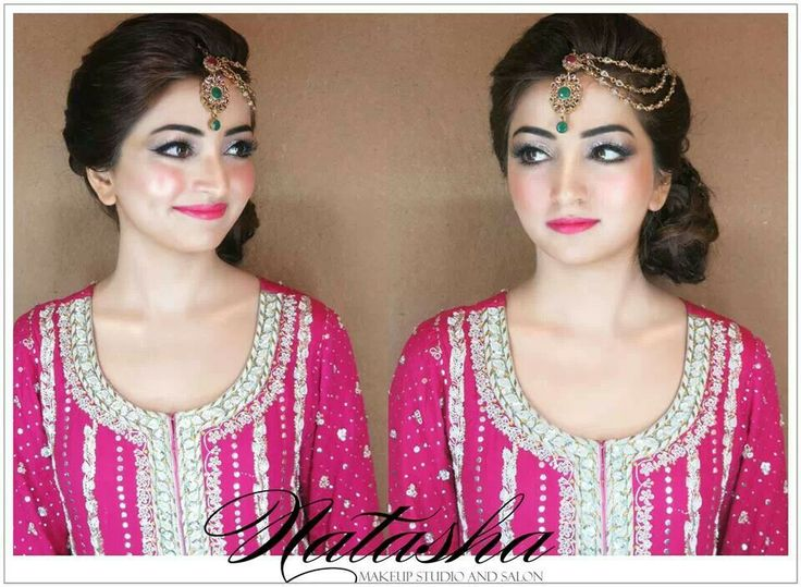 Mehndi Hairstyles With Paranda : 82 best mehndi looks images on pinterest natasha salon bridal