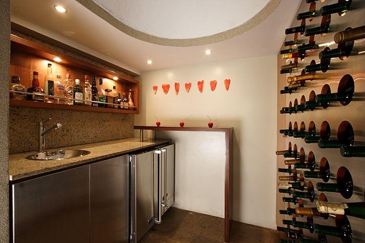 Bar, Family Room en Casuarinas, Lima - Perú. By ALMA Arquitectura e Interiores #bar #ProyectosAlma