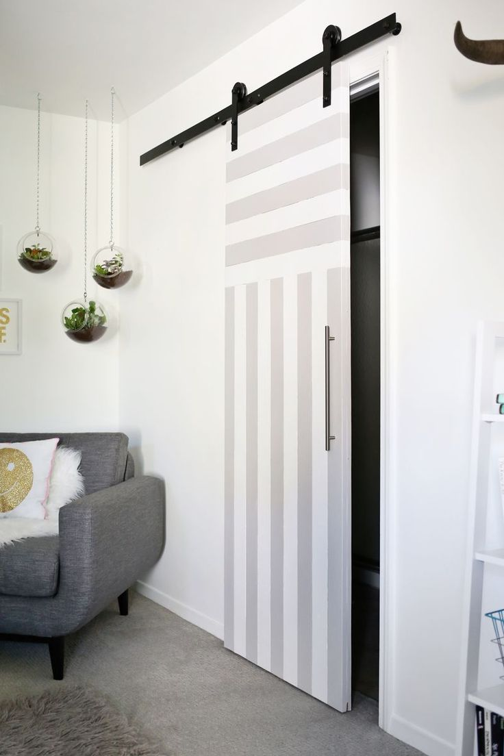Charmant Sliding Door Solution For Small Spaces (A Beautiful Mess) | Home Remedies |  Pinterest | Doors, Home And House
