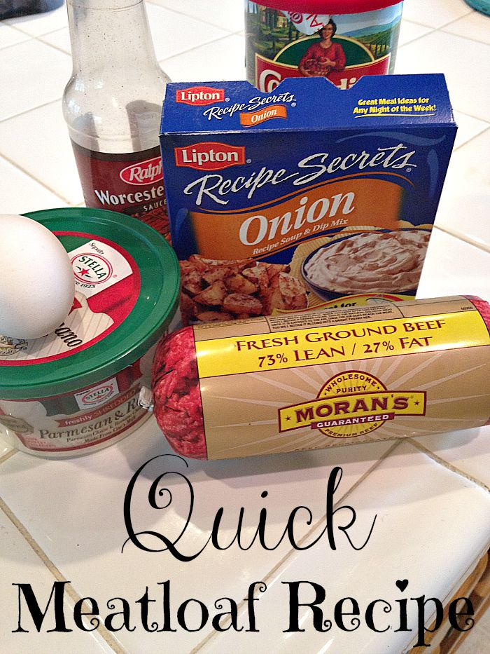 Quick Meatloaf Recipe - Temecula Qponer ~ Blogs!
