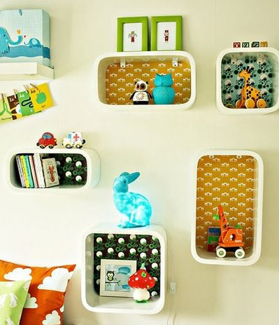 Clever kids wall deco