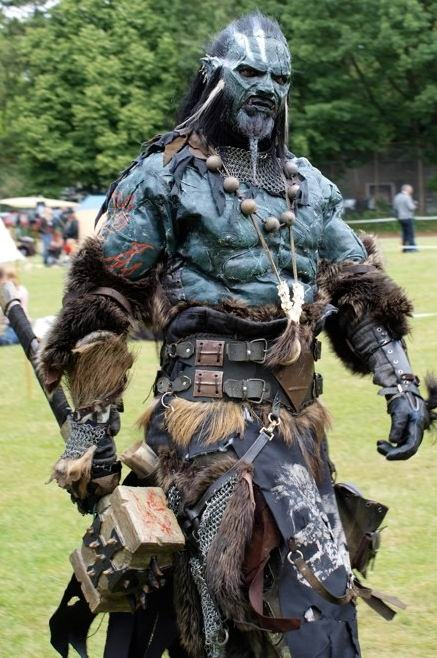 Orc Lotr Costume Pin by ZERO on ...