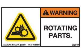 Warning   Aussie Safety Stickers