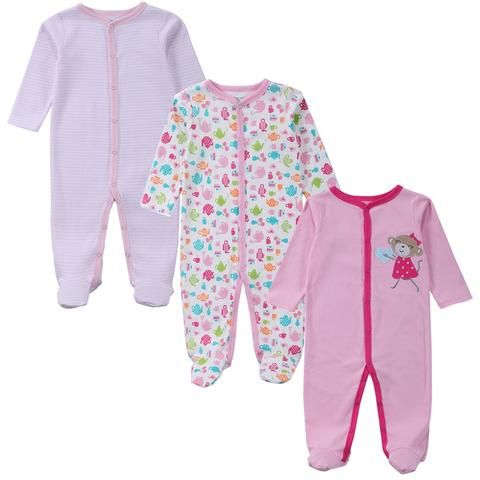 7dc50572a 3 PCS Mother Nest Brand Baby Romper Long Sleeves 100% Cotton Baby ...