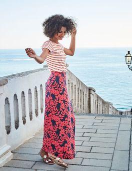 898bdc907 Jersey Maxi Skirt Boden | Cute skirts | Jersey maxi skirts, Maxi ...