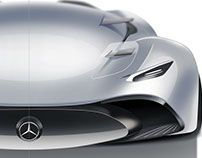 Mercedes Hybrid Supercar Project in Full on Behance