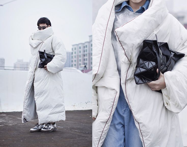 check out the details of the MMM with H&M Duvet Coat in my blog < 3 :