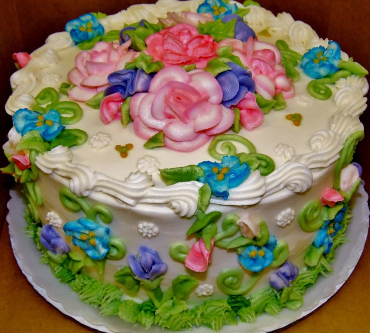 151 best Floral design Birthday cakes images on Pinterest Design