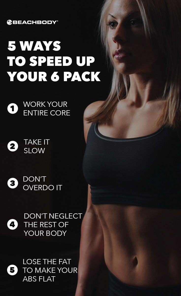 5 Ways To Speed Up Your Six Pack The Beachbody Blog Fast Abs Abs Workout Six Pack Abs Workout