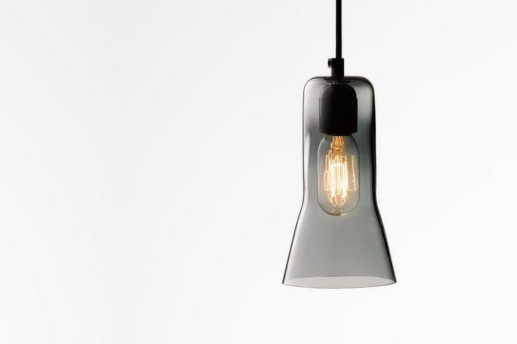 Ross Gardam   Touch pendant in black glass   Daily Imprint Interview + More Images http://www.dailyimprint.net/2015/09/designer-ross-gardam.html