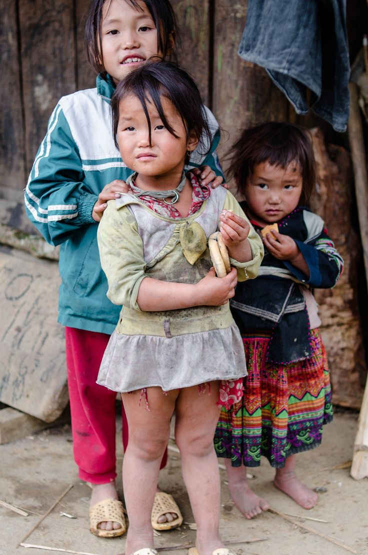 Hmong children of Sapa