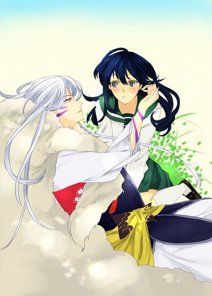 sesshomaru-and-kagome-dating