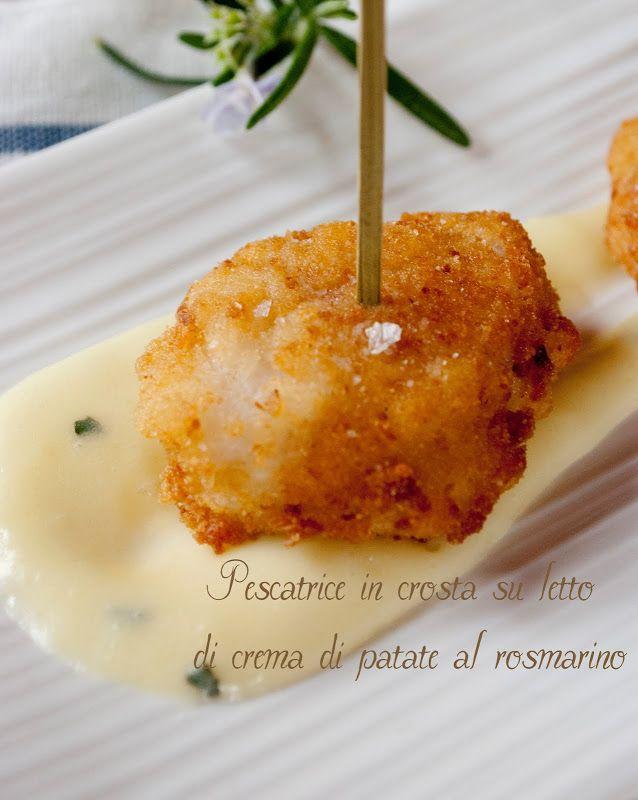 Ho girovagato sul web per due giorni alla ricerca di una buona ricetta della rana pescatrice...e devo dire che oltre alla ricetta di Ro...