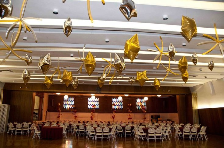 17 best images about bar bat mitzvah decorations balloon for Balloon decoration for ceiling