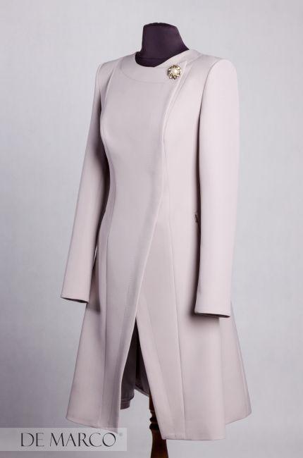 Płaszcz szyty na miarę ! To elegancka przejściówka idealna na komunię i na wesele do sukienki. 😍🌿  http://www.sklep.demarco.pl/pl/plaszcz-judyta?utm_content=buffercfc9d&utm_medium=social&utm_source=pinterest.com&utm_campaign=buffer