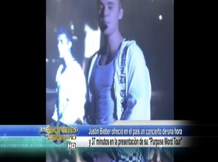 Farándula Extrema: El Concierto De Justin Bieber Fue Un Gran Show A Casa Llena