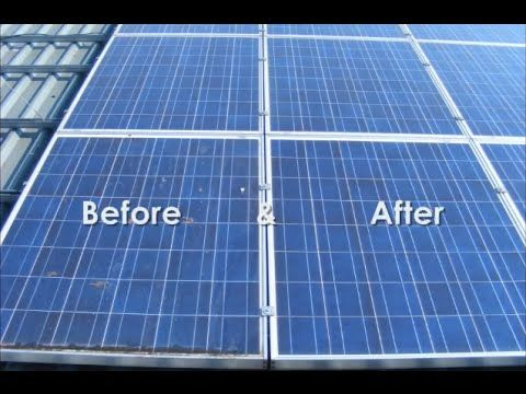 how to clean panel on solar lights