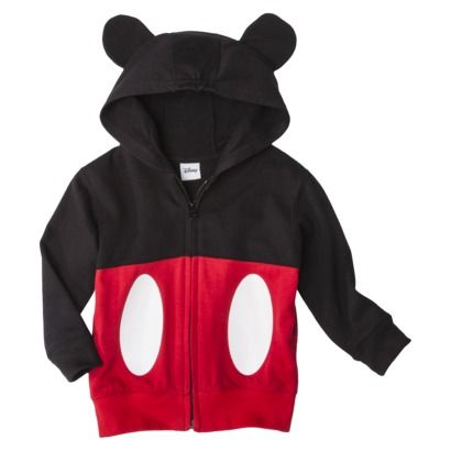 Disney® Infant Toddler Boys' Mickey Mouse Hoodie. Just got this for ma boy. So cute.