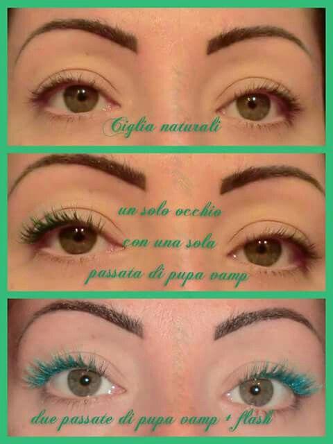 effetto #PupaVamp  n.500 :) ecco ora potete ammirare quanto è figo :) PUPA Milano #mascara #eyelashes #green #top #eye #lashes #makeup